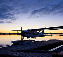 Evening Light on a DeHavilland Beaver by Tim Grams