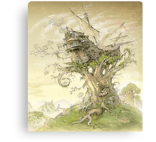My fairy tale(3) Canvas Print