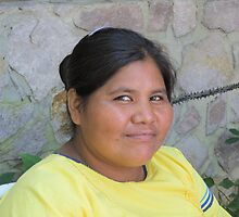 Young Huichol Lady - Joven Señora Huichol, Puerto Vallarta, Mexico by PtoVallartaMex