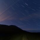 Campsie Star Trails (2) by Karl Williams