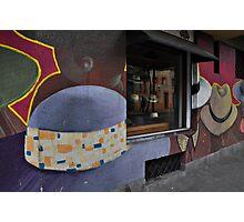 Sombrero Shop, Santiago Photographic Print