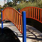 Colourful Bridge by Eve Parry