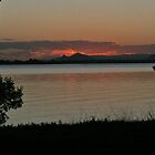 Bribie Island Sunset - nearly dark by STHogan