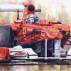 Ferrari 150 Italia Fernando Alonso F1 2011  by Yuriy Shevchuk