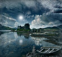 Eilean Donan castle : Ancient Muse by Angie Latham