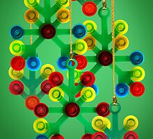 Lego Christmas decorations, Merry Christmas by Addison