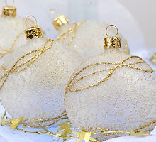 Christmas ball baubles by homydesign