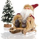 Miniature of Santa Claus on sleigh by homydesign