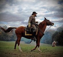 The Civil War Reenactor-1150 by Michael Byerley