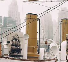 Buenos Aires tall ship boat by bethischeery