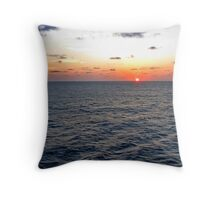 Up from the depths... Throw Pillow