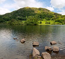 Rydal Water Rocks by John Hare