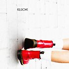 """""""Walk On"""" - Red Docs by Kell Rowe"""