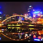 Melbourne Lights by Danielle  Miner