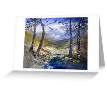 A river in Africa Greeting Card