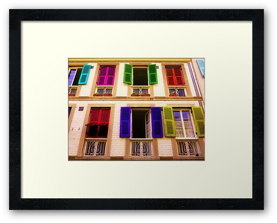 Colourful Windows by EvaMarIza