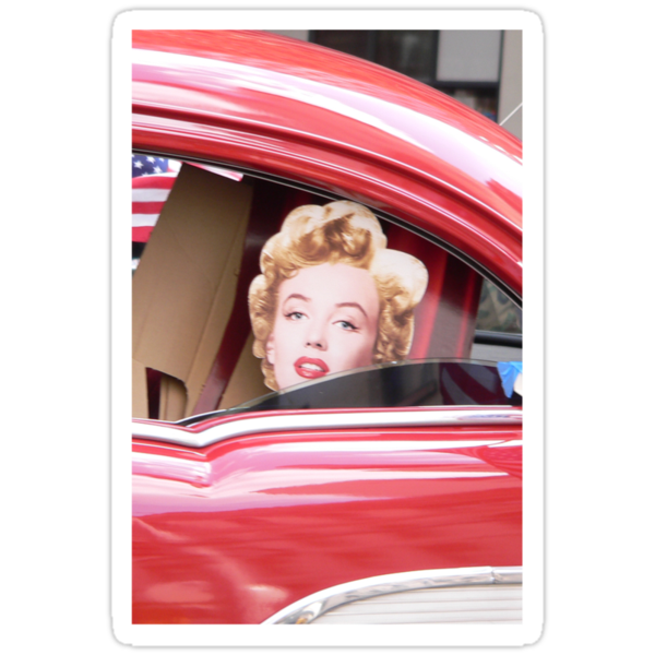 Marilyn Monroe iPhone Case by andytechie