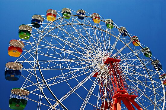 Ferris Wheel Colour by Kate Wall
