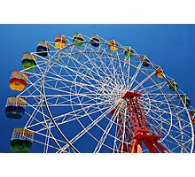 Ferris Wheel Colour Photographic Print