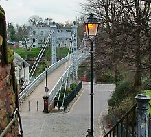 Queens Park Suspension Bridge by AnnDixon