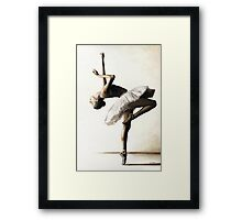 Reaching for perfect Grace Framed Print
