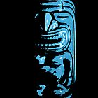 Blue Tiki by Scott White