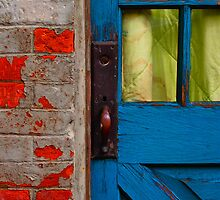 Blue Door by Skip Hunt