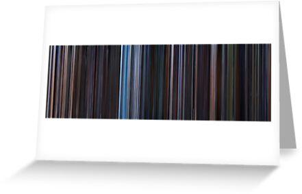 Moviebarcode: Star Wars: Original Trilogy (1977-1983) by moviebarcode