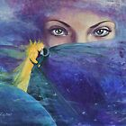 "...and the past it's just the beginning...from ""Impossible love"" series by dorina costras"