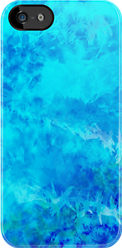 Blue Lagoon - iPhone case by Melanie Viola