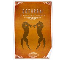 Dothraki Poster Poster