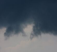 Background of sky with thunderclouds. by fotorobs