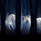 WHITE UNICORNS by VIGGART