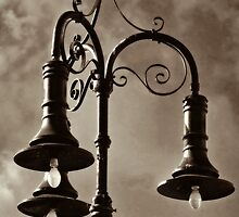 Street Lighting ~ Wells, Somerset by Susie Peek