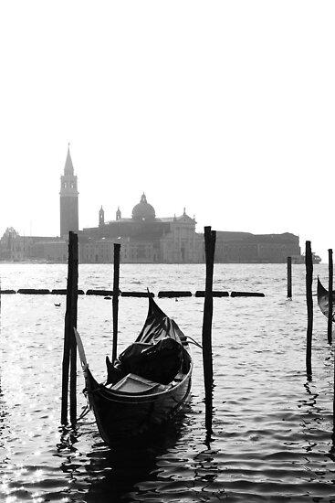 Venice in B&W by Lorenzo Bracaglia