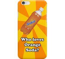 Orange Soda iPhone Case/Skin