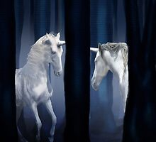 WHITE UNICORNS by VIGGART