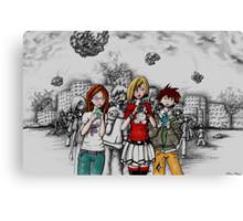 Teenage Oblivion Canvas Print