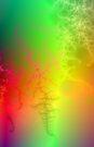Rainbow Fractal by Objowl