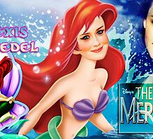 Ariel the Little Mermaid by sassiejen