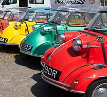 Messerschmitt Rally at Maryport 7 2011 by Jan Fialkowski
