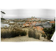 Binalong Bay Landscape, Tasmania, Australia. Poster