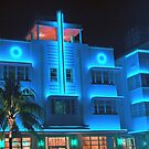 Miami Deco Lights by Jerry L. Barrett
