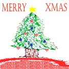 Merry Xmas Tree by KazM