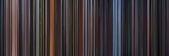 Moviebarcode: Star Wars: Complete Saga (1977-2005) by moviebarcode