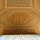 Ceiling in the Vatican, Rome by johnnabrynn