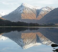 Reflections, Loch Etive by Tony Steel