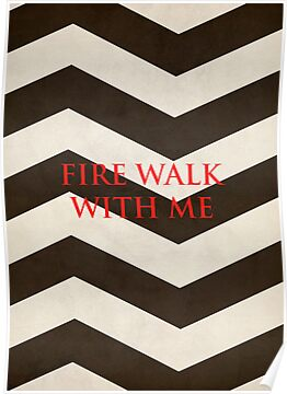 Twin Peaks: Fire Walk With Me Minimalist Poster by Nathan Bayfield