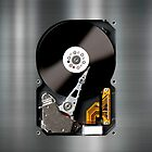 Hard Drive iPhone by rubyred