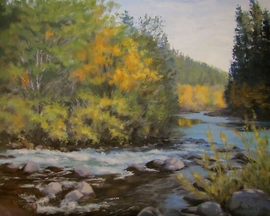 Umpqua Fall by Karen Ilari